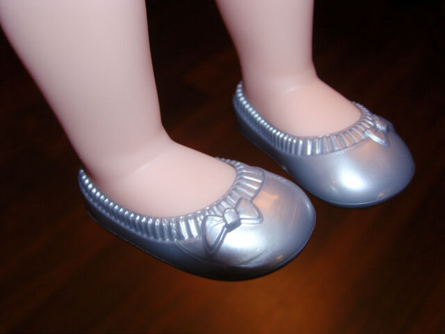 Fits Disney Animators Toddler Princess Doll Party Gray Shoes for Clothes NEW