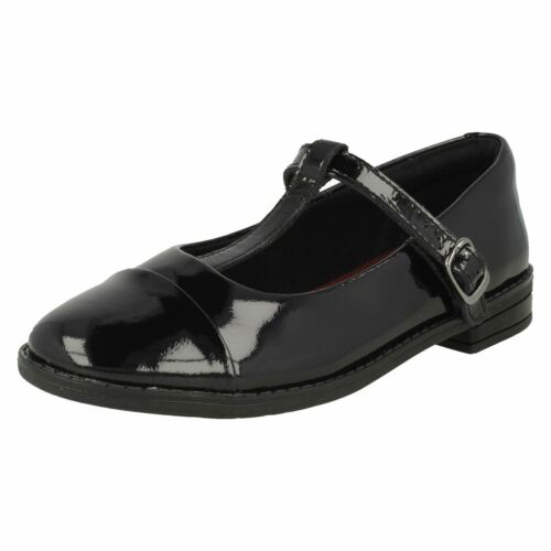 Bar Negro Zapatos Drew Shine Girls T School Clarks pq6E6w