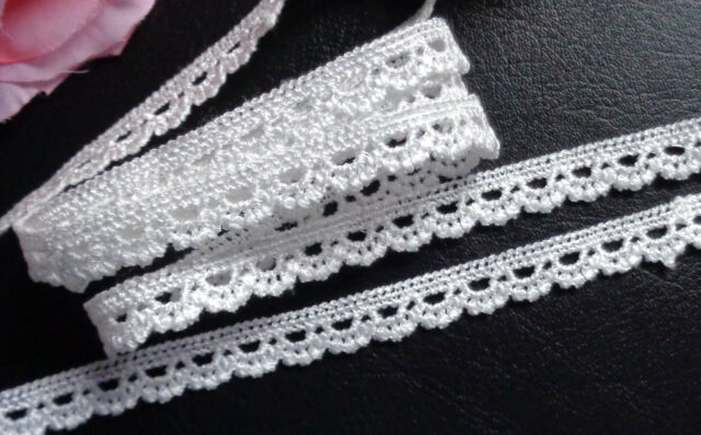 1/2 inch wide  Embroidery Lace tape trim selling by the yard