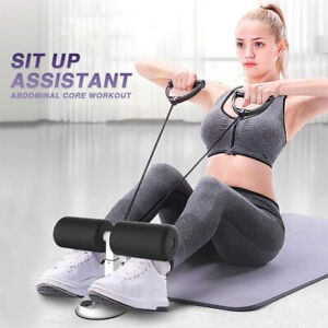 Adjustable-Self-Suction-Sit-Up-Bars-Abdominal-Core-Workout-Strength-Fitness-AU