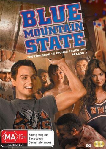 1 of 1 - Blue Mountain State : Season 3 (DVD, 2015, 2-Disc Set)
