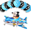 New-Disney-Mickey-Mouse-Birthday-Foil-Latex-Balloons-Plane-Party-Decorations-Boy thumbnail 6