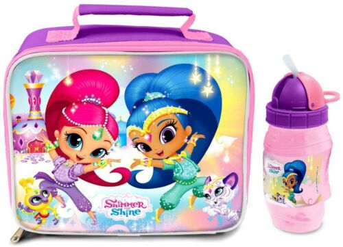Shimmer and Shine Insulated Lunch Bag and Bottle  *BRAND NEW*