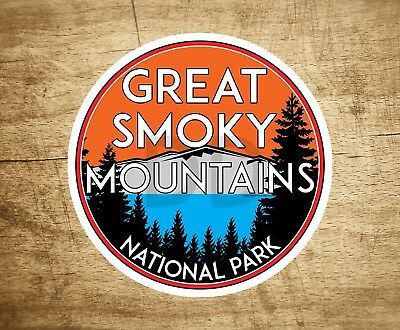American Vinyl Round in The Smokies Sticker Hike Great Smoky Mountains National Park