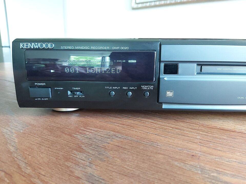 Minidisc afspiller, Kenwood, DMF-3020