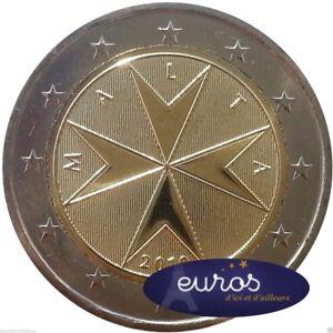 Piece-2-euros-annuelle-MALTE-2016-Croix-Maltaise-Neuve-Qualite-UNC