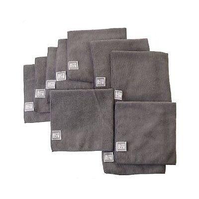 AUTOGLYM High Quality Grey Microfibre Car Polishing Cloth x 10 Free P & P