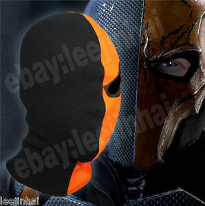 Image is loading New-Deathstroke-the-one-eyed-mask-Cosplay-Costume- & New Deathstroke the one-eyed mask Cosplay Costume Arrow Deathstroke ...