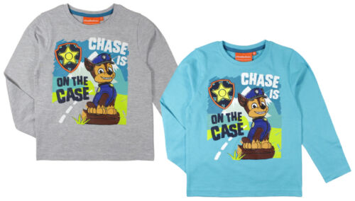 Paw Patrol Shirt Manches Longues 98 104 110 116 122 128 Chemise Manches Longues Garçon Enfants Ryder
