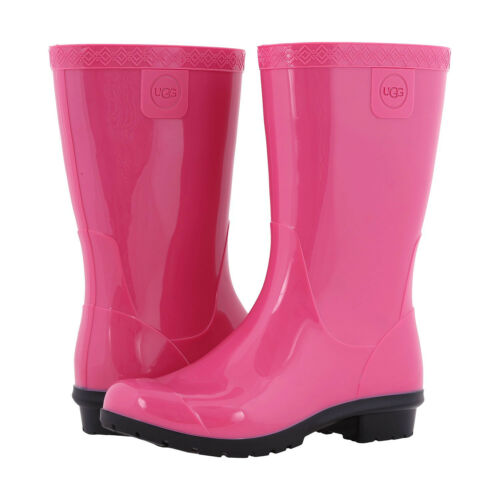 4a3f46b7fcf UGG KIDS RAANA Pull Up Waterproof Rain Boot Diva Pink