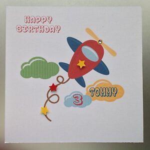 Image Is Loading PERSONALISED Handmade BIRTHDAY Card GRANDSON SON NEPHEW 2nd
