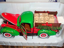 Franklin Mint-2013 Christmas Trucks-1937 Studebaker Pick-up -New Limited Edition