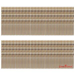 100PCS-1-8-034-Cobalt-Drill-Bit-Set-M35-HSS-Jobber-Length-Twist-Drill-Bits-Tools