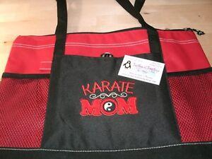 Karate Mom Personalized Tote Bag Sports Mom Tote Karate Mom Gift