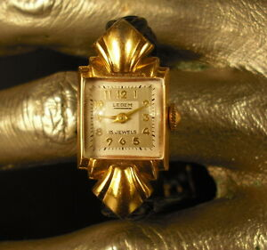 Montre De Femme Lebem 15 Rubis Jewels Woman Watch Larges VariéTéS