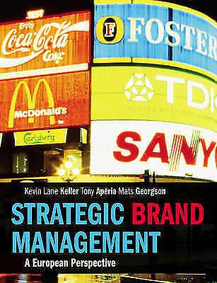 1 of 1 - Strategic Brand Management: A European Perspective by Kevin Lane Keller, Mats...