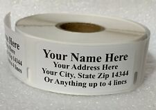 Quality Made Personalized Address Roll Labels 450pcs For Ur Mailing Convenience
