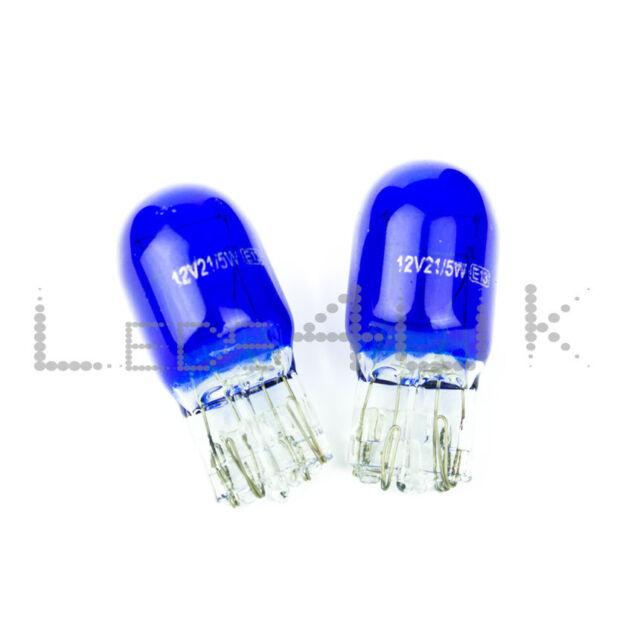 2 x Vauxhall INSIGNIA 580 7443 W21/5W T20 DRL Bulbs Xenon Effect Polarg M13