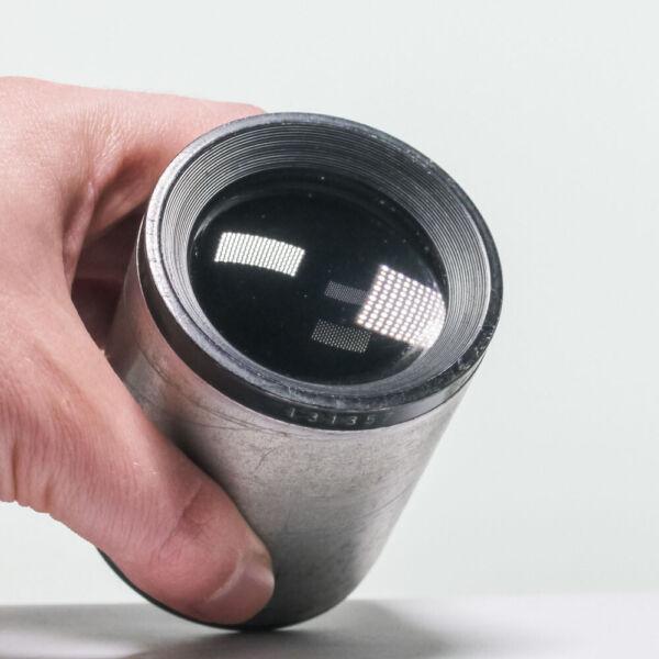 AgréAble Isco Kiptar 90 Mm F2 Vintage Projection Lens, Bokeh, Presque Ventes Pas ChèRes 50%
