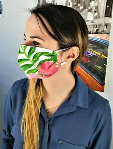 Face Mask Adult 100 Cotton Handmade Reusable Washable Uk Ebay