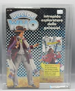 """1979 vintage AFA 80+Q Harbert DOCTOR WHO toy DENYS FISHER action figure 9"""" NICE"""