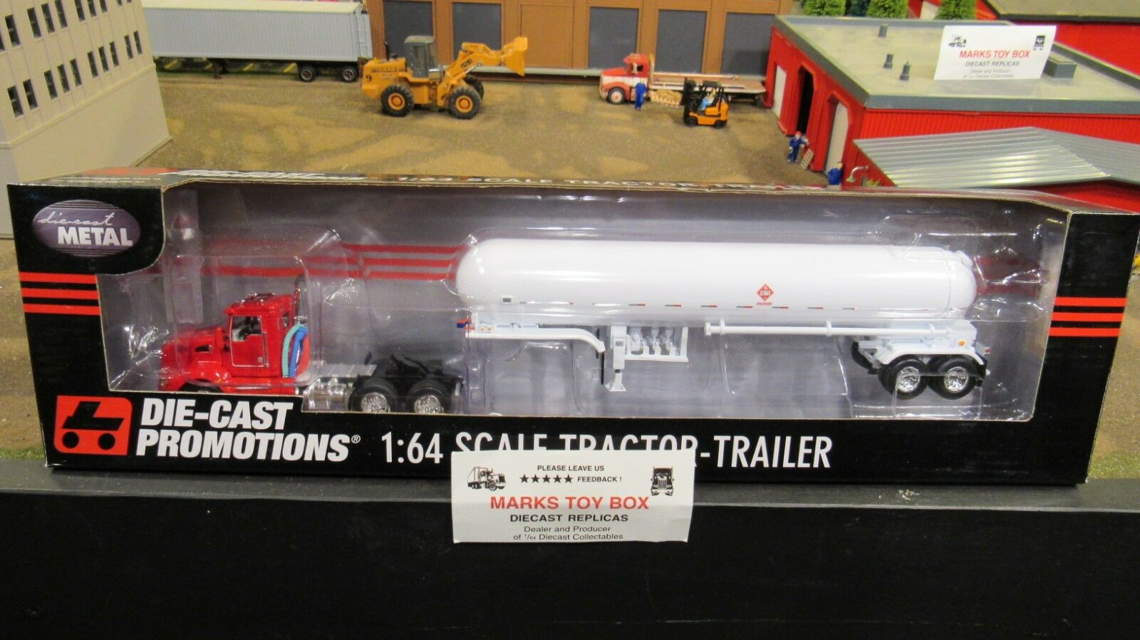 DCP 33659 Blank KW T660 semi Day Cab Camion propane citerne tanker trailer 1 64 CL