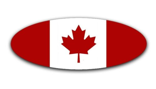 Front and Rear Canada Flag Decal for 2015-2017 Ford F-150 Emblem