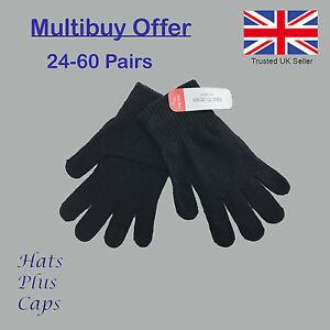 Multi-Buy-Offer-Black-Magic-Winter-Warm-Stretch-Gloves-Thermal-Mens-Ladies