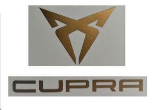 Cupra Aufkleber Sticker Logo kupfer matt Seat Leon Ateca Ibiza Arona Tavascan