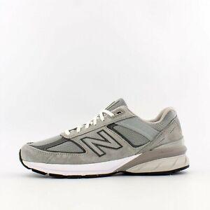 Mens-New-Balance-990v5-Grey-M990GL5