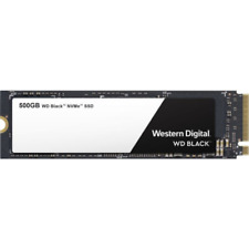 WD 500 GB Black High-Performance NVMe SSD M.2 PCIe