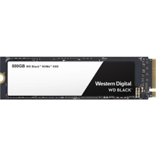 WD 500 GB Black High-Performance NVMe SSD M.2 PCIe