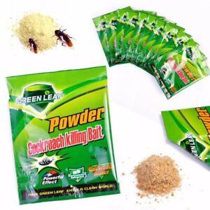 Cockroach Killing Bait Powder Effective Roach Killer 50 Sachets 1 Box