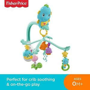 Fisher-Price-DFP12-3-In-1-Soothe-And-Play-Seahorse-Mobile-Baby-Cot-Mobile-With