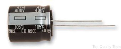 Condensador electrolítico 18 mm 82 µF 400 V con plomo Radial de ± 20/%, Ed Series