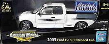 2003 Ford F150 pickup WHITE 1:18 Ertl American Muscle 39384