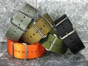 20mm-Nylon-Diver-Strap-4-Rings-Gun-Metal-Watch-Band-Military-ZULU-Maratac-5R