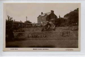 Ga290-341-Real-Photo-of-The-Manor-House-BURNSALL-c1920-Unused-VG-EX
