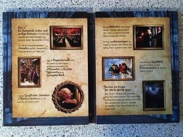 Harry Potter og De vises sten..., DVD, eventyr