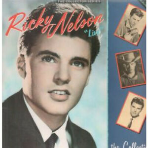 RICKY-NELSON-Live-The-Collection-DOUBLE-LP-VINYL-UK-Castle-19-Track-Double