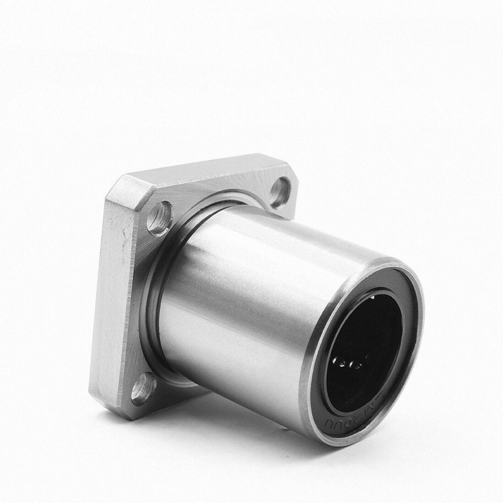LMK8UU Square Flange Type Linear Bearing Ball Bushing CNC Part