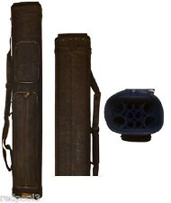 Vincitore C461T - 4x6 Black Leatherette Textured Cue Case - C461T - Free Shipp