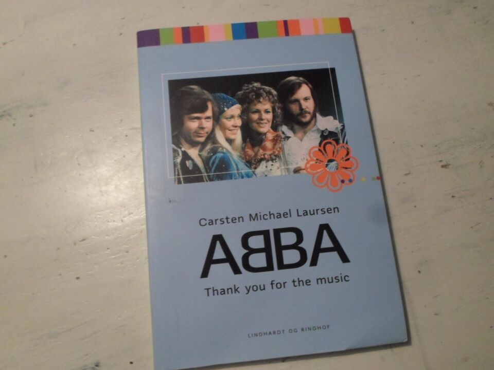 ABBA thank you for the music, Carsten Michael Laursen