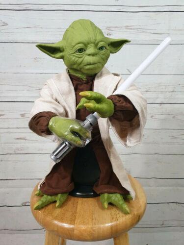 "Star Wars Legendary Jedi Master 16/""  Yoda Talking Action Figure New Sale"