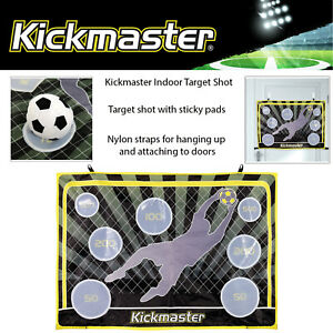 Kickmaster-Indoor-Target-Shot-Football-Training-Shooting-Game-Includes-Ball