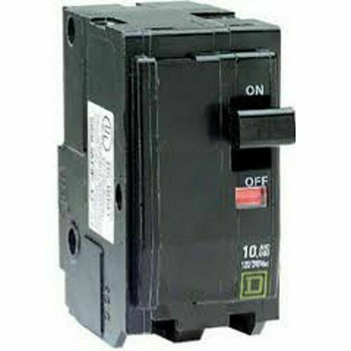 SQUARE D QO2100 100A 2 POLE 120//240v CIRCUIT BREAKER BY SCHNEIDER NEW IN BOX