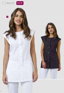 Camicia ampia delle colori Parrucchiere Camicie e Victoria a due ampia giacche leggera qH1tE