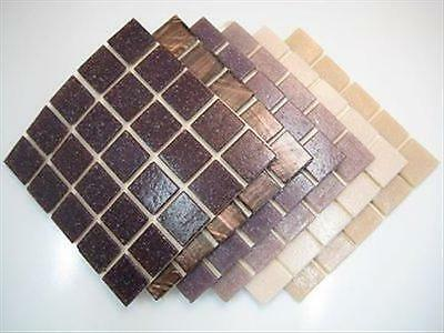 Mixed Mosaic Tessera Purple Mosaic Tile Kit Stained Glass.Variety Pack