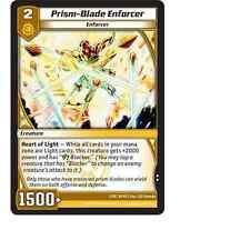 Kaijudo X3 PRISM-BLADE ENFORCER Uncommon #7/55 4EVO (Playset) EVO FURY DM TCG