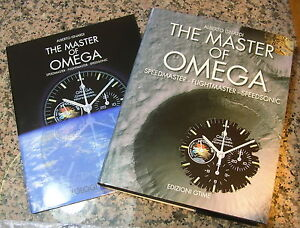 THE-MASTER-OF-OMEGA-The-Book-Libro-Livre-SPEEDMASTER-FLIGHTMASTER-SPEEDSONIC